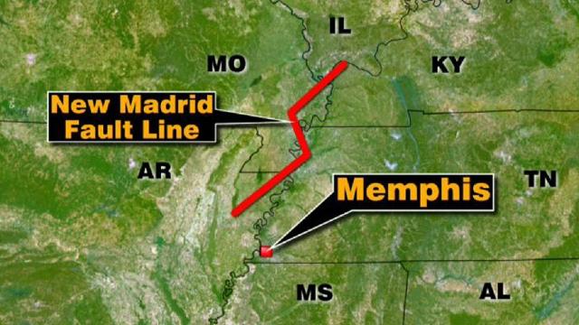 New Madrid Fault Line Map New Madrid Fault Line in Focus | Fox News Video New Madrid Fault Line Map