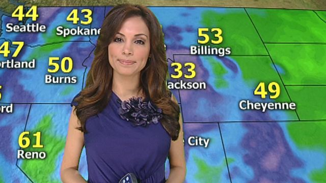 Maria Molina with today's Northern, Mid-Western weather forecast