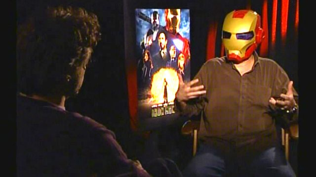 'Iron Man' Sits Down With Downey, Jr.