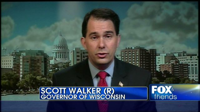 Scott Walker on Fox (random Google image result)