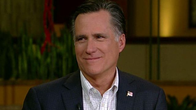Romney Trying to 'Buy' the Election?