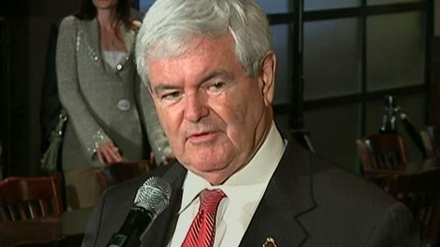 Gingrich calls for Santorum, Perry to leave race