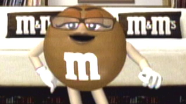 M&M debuts newest 'spokescandy'