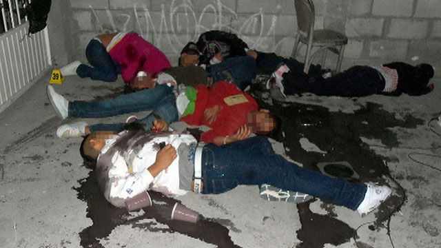 Warning Graphic Video: Teens Killed in Mexico