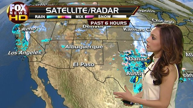 Fox Central/Southwest Weather Forecast: 2/13