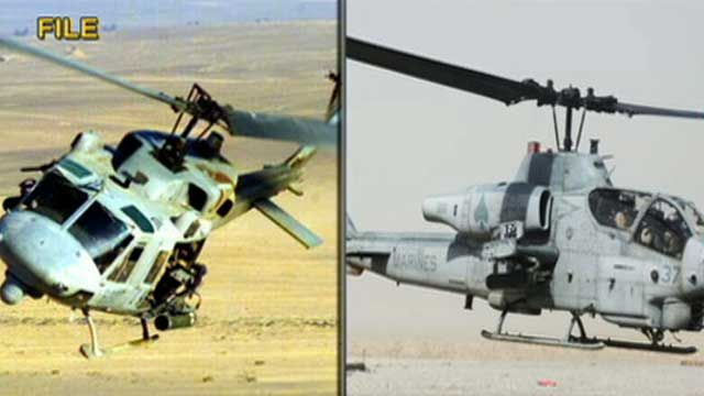 7 Marines Killed in Helicopter Crash