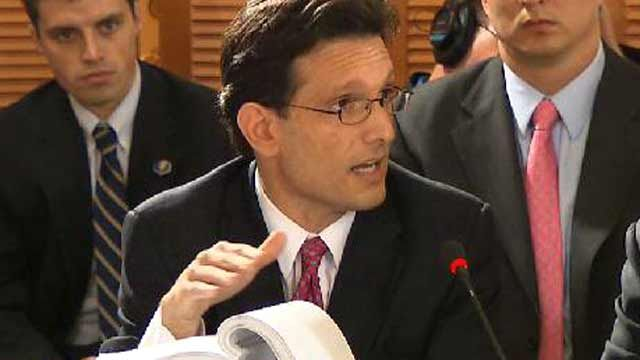 Rep. Cantor: 'We Don't Care for This Bill'