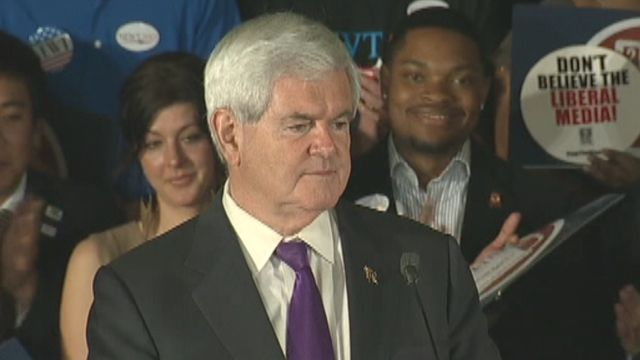 Newt Gingrich: We're going all the way to Tampa