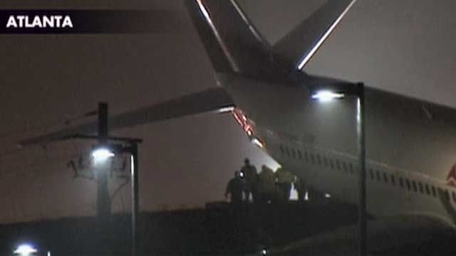 Jet Veers Off Runway at World's Busiest Airport