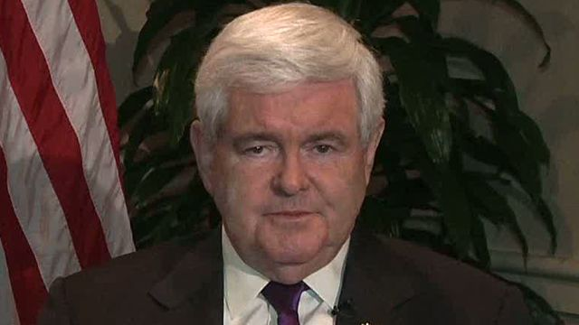 Newt Gingrich on path to convention