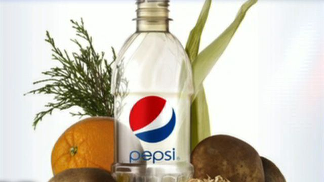 Pepsi to Manufacture Bottles Made from Plants?