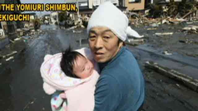Baby Found Alive in Japan