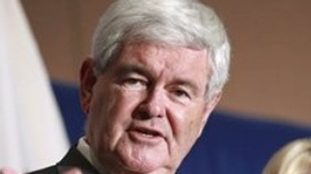 Conservatives divided over whether Gingrich should drop out