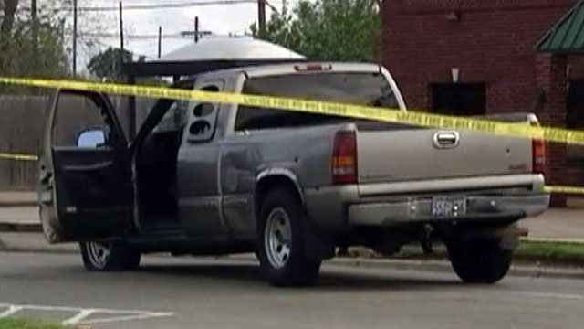Shooting causes chaos outside Texas courtroom