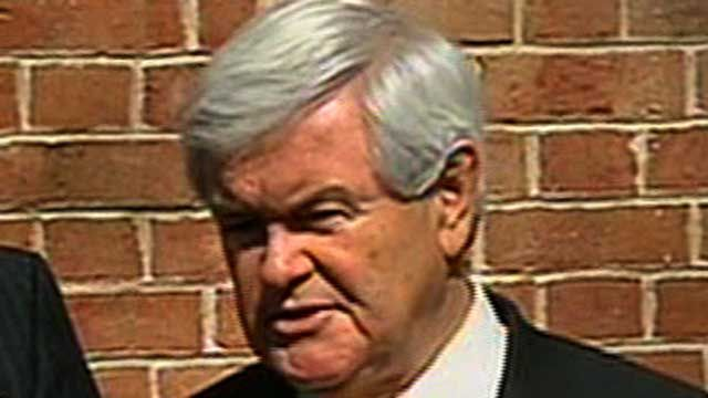 Gingrich Lays Off Third of Campaign Staff