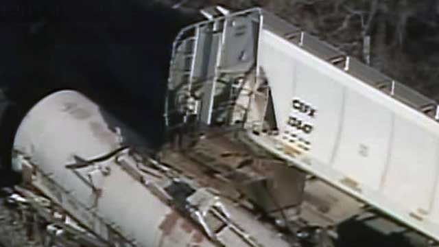 Freight Train Derails in Ohio