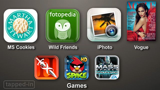 Tapped-In iPad: Retina-Ready Apps
