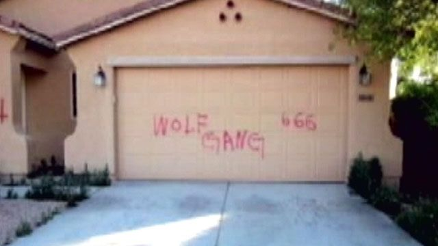 Swastikas, threats spray-painted on Arizona homes