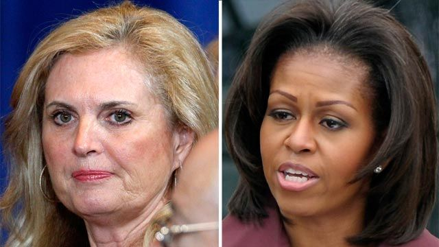 First Wives Club: Ann Romney vs. Michelle Obama