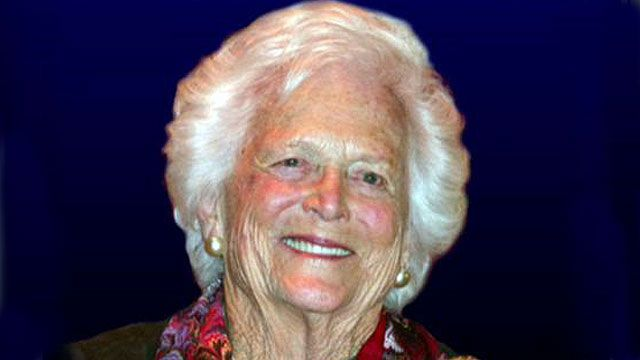 Barbara Bush: It's not easy staying at home, being a mom