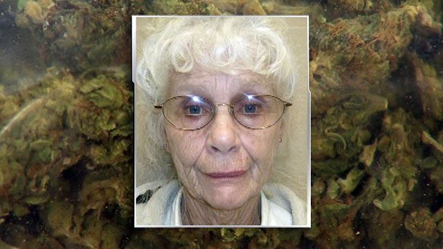 Grandmother busted with $230,000, marijuana