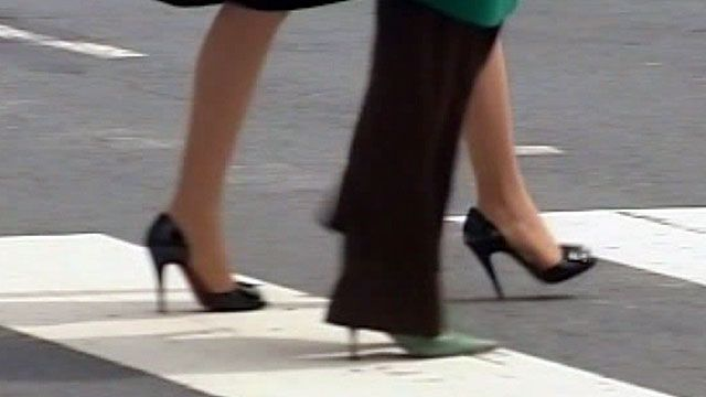 Stiletto heel used as a weapon in San Francisco