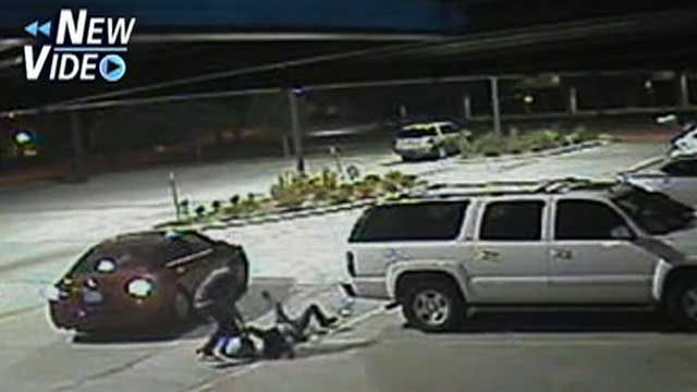 Violent Purse-Snatching in Texas