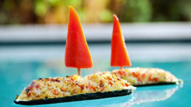 Make mealtime a blast with fun veggie foods