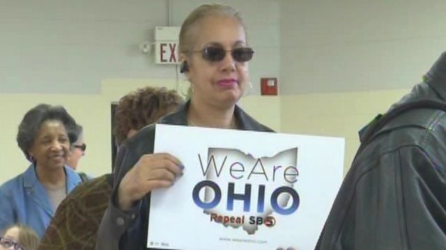 Fight to Restore Bargaining Rights in Ohio