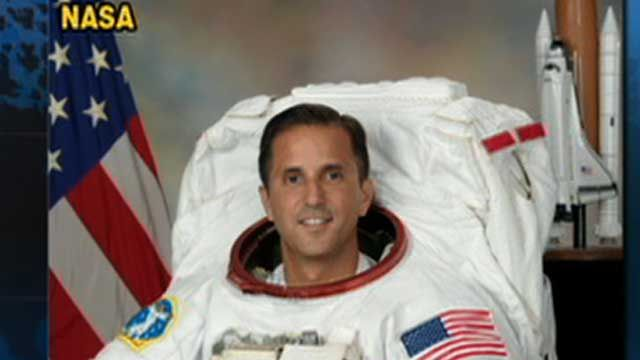 American Astronaut Gets Ready for ISS