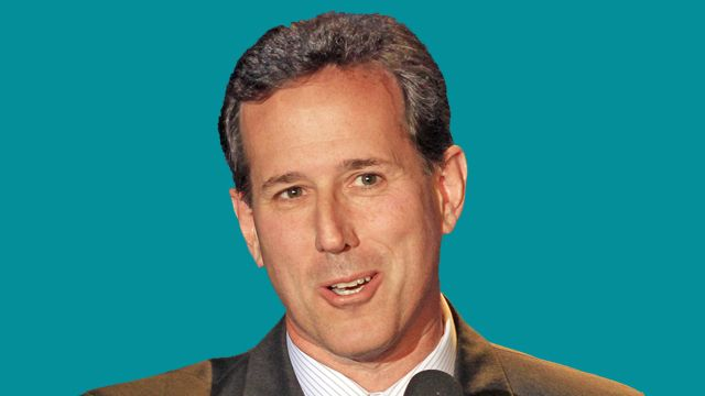Rick Santorum Jumps into GOP Pool