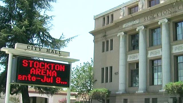 Stockton, Calif. expected to file for bankruptcy