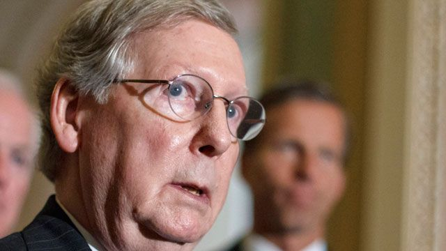 McConnell gives GOP 50-50 chance of winning Senate majority