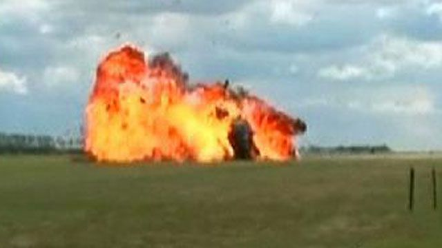 Pilot Ejects From Plane