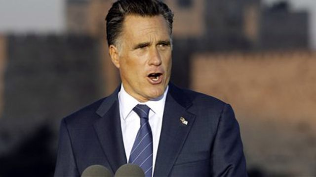 Did media overplay gaffe attack on Romney?