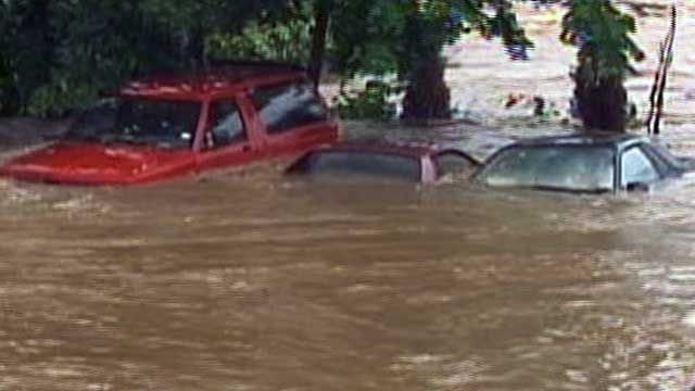 Floodwaters Surge in NJ
