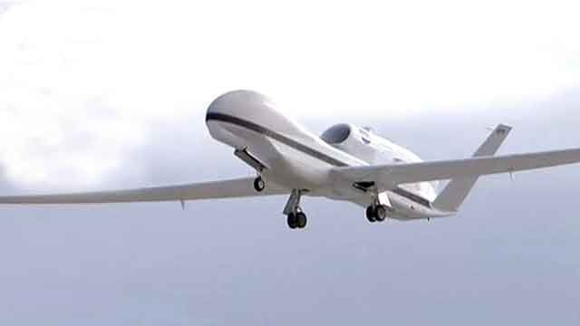 Drones to be become hurricane hunters