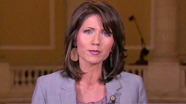 Rep. Noem: We Can't Repeat Failed Policies