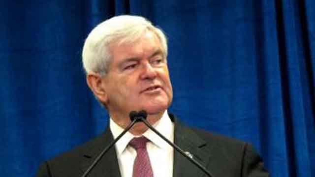 Newt Gingrich's Reaction to the V.P. Debate