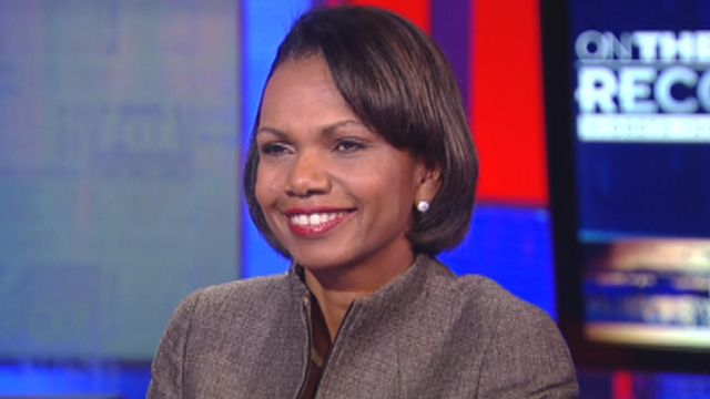 Uncut: Condoleezza Rice 'On the Record'