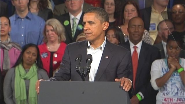 President Obama Out Stumping For Dems