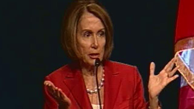 Pelosi: Income Disparity Also About Ownership, Equity, Fairness
