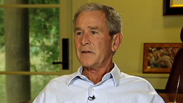 Bush on Moment He Heard About 9/11 Attacks