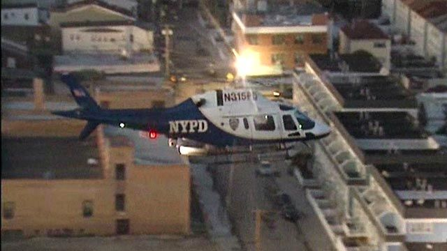 NYPD step up security in areas hit worst by Sandy