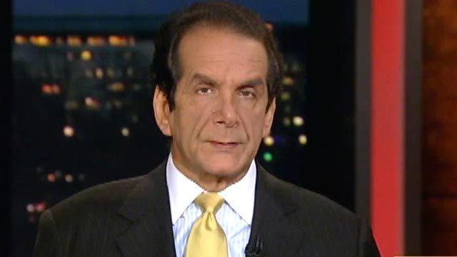 Krauthammer on Looming Fiscal Cliff
