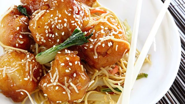 Cut Calories on Chinese Food