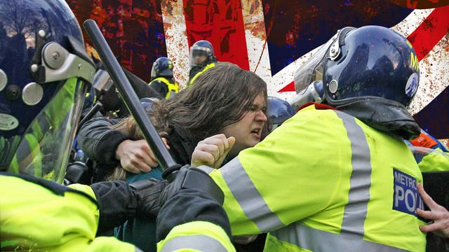 Austerity Measures Spark Violent Clashes in London